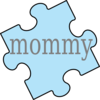 Puzzle Piece Mommy Clip Art