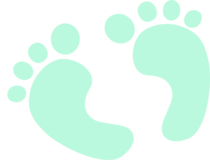 baby feet blue clip art at clker com vector clip art online rh clker com baby feet clipart black and white clipart baby boy feet