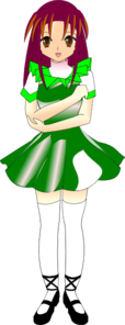 Irish Step Dancer Clip Art