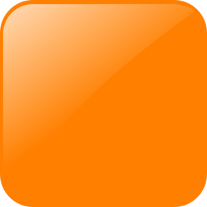 Blank Orange Button Clip Art