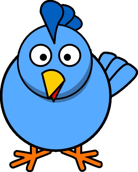 Blue Chick Clip Art at Clker.com - vector clip art online, royalty ...