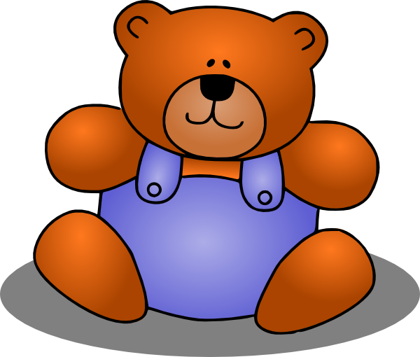 teddy bear clip art at clker com vector clip art online royalty rh clker com teddy bears clipart clip art teddy bear free