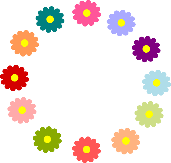 clipart flower wreath - photo #28