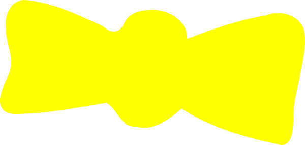 Yellow Bow Png Yellow Bow Tie