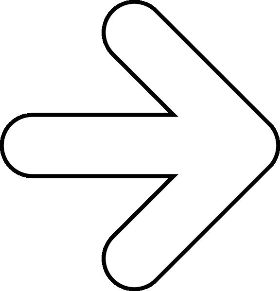 clipart arrow outline - photo #14