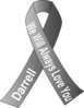 Lung Cancer Ribbon Aunt Clip Art