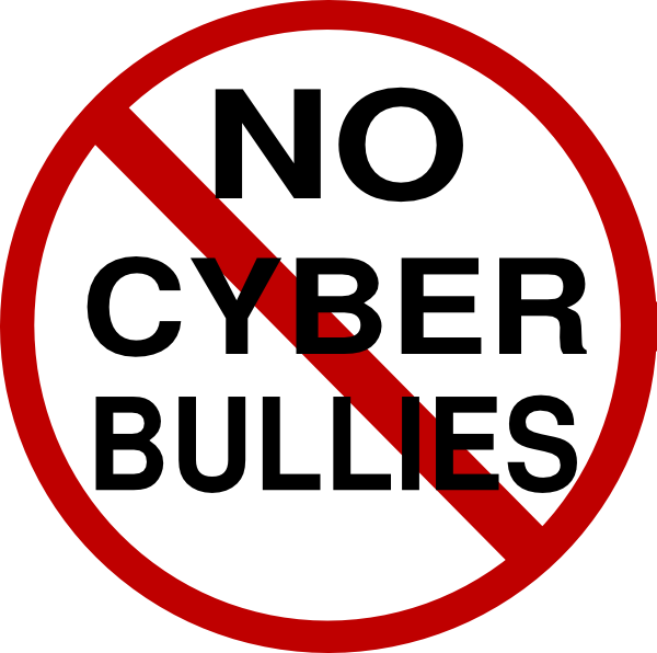 no cyber bullies clip art at clker com vector clip art online rh clker com cyberbullying clipart