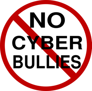 No Cyber Bullies Clip Art
