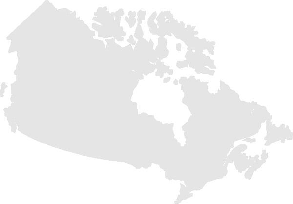 Canada Map Clip Art at Clkercom vector clip art online royalty