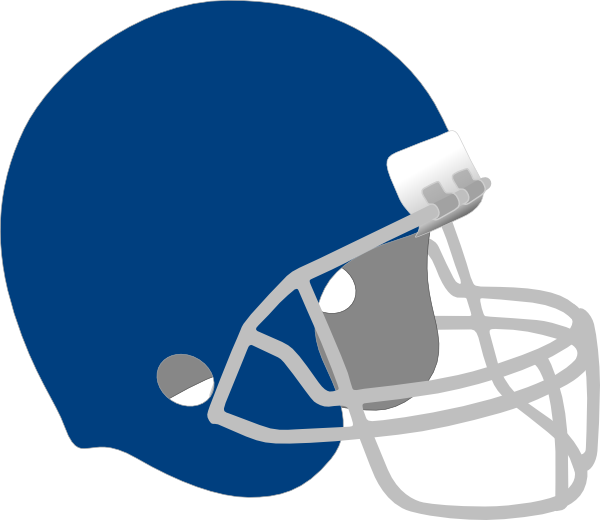 Dark Blue Football Helmet Clip Art at Clker.com - vector ...