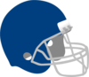 Dark Blue Football Helmet Clip Art