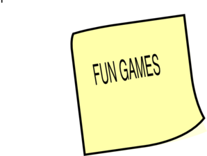 Fun Games Clip Art