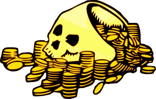 skull money clip art at clker com vector clip art online rh clker com Save Money Clip Art Money Clip Art