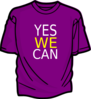 Purple T Shirt Yeswecan Clip Art