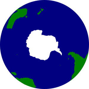 Earth Southern Hemisphere Clip Art