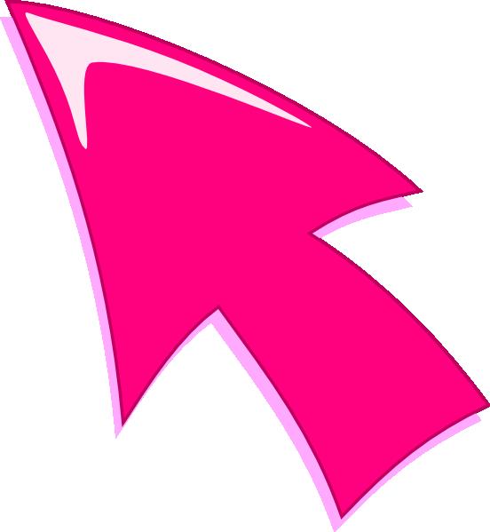 Flecha Rosa clip art - vector clip art online, royalty free ...