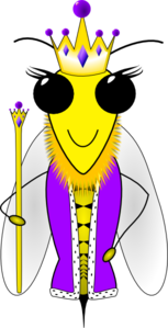 Queen Bee  Clip Art