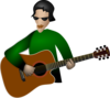 Play Guitar Clip Art