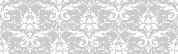 silver damask clip art at clker com
