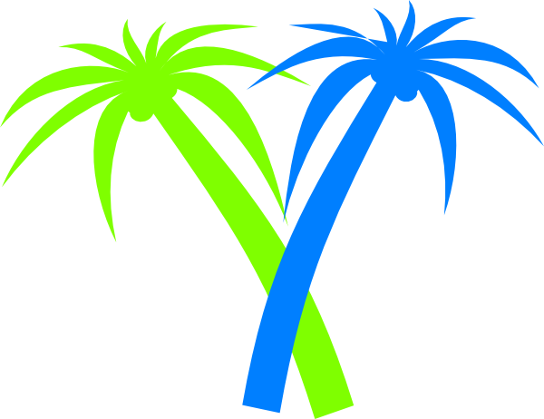 palm tree clip art - photo #2