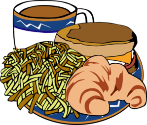 fast food menu samples breakfast clip art at clker com vector clip rh clker com  clipart breakfast food pictures