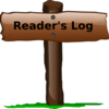 Readers Log Clip Art