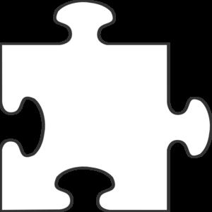blue border puzzle piece top clip art at clker com vector clip art rh clker com puzzle piece clipart black and white puzzle piece clip art powerpoint free