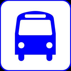 bus station dark blue 3 clip art at clker com vector clip art rh clker com Church Bus Clip Art Motorcycle Clip Art