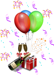 New Year\ S Eve Celebration Clip Art
