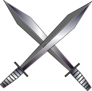Cross Swords Clip Art