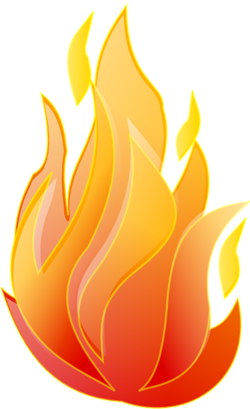 clipart flames of fire - photo #41