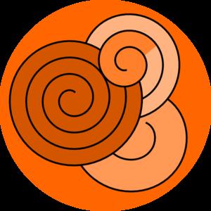 Spiral Design Clip Art at Clker.com - vector clip art online, royalty ...