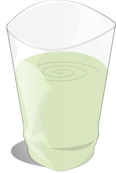 clipart of a glass of milk - photo #6