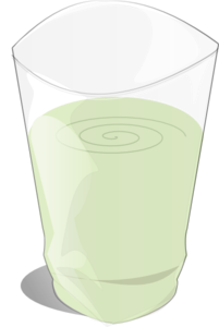 Glass Of Milk (large) Clip Art