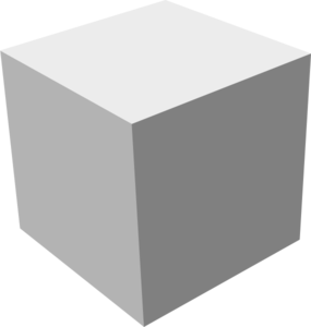 Shaded Cube Clip Art at Clker.com - vector clip art online ...