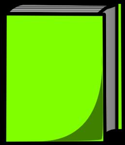 Green Book Clip Art at Clker.com