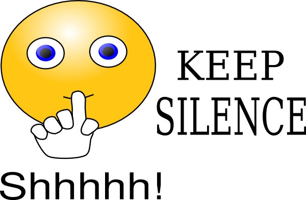 keep silence clip art at clker com vector clip art online royalty rh clker com clipart quiet mouth clipart quiet sign