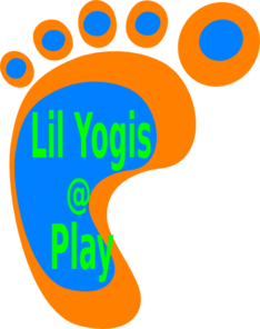 Lil Yogis At Play Logo Clip Art