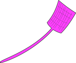 Pink Fly Swatter Clip Art