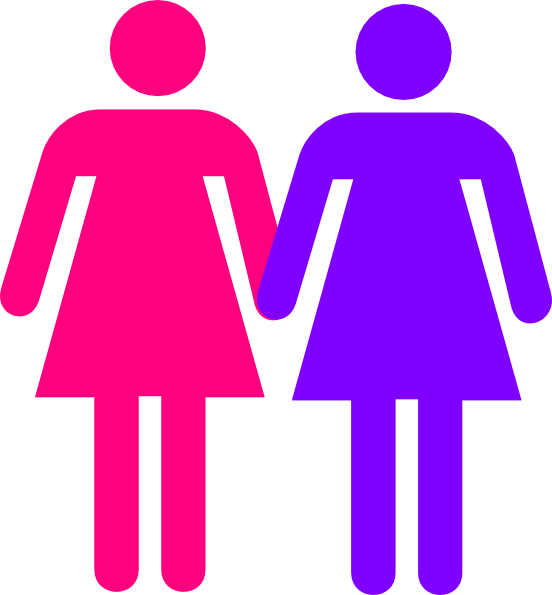 Bathroom Signs Holding Hands women holding hands clip art at clker - vector clip art online