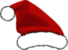 Santa Hat For Logo Clip Art