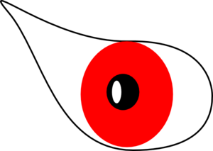 Red Eye Clip Art
