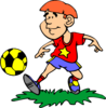 Soccer Player Clip Art
