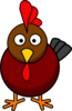 Rooster Cartoon Clip Art