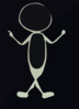 Stick Figure Boy Clip Art