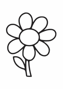 Blume Clip Art at Clker.com - vector clip art online, royalty free ...