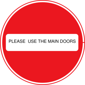 No Entry Clip Art
