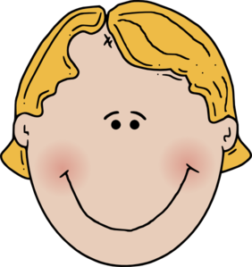 Happy Boy Face Clip Art