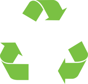 Expanded Recycle Clip Art