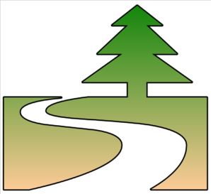 Nature Trail Cutout Clip Art